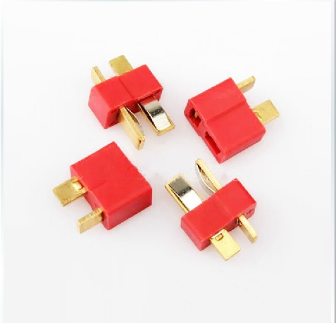 5 Pairs T Plug Male and Female Connectors for RC Lipo Battery ESC
