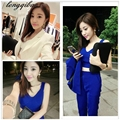 Women 's Spring and Autumn Europe and the United States in the new long - sleeved three - piece suit TB84