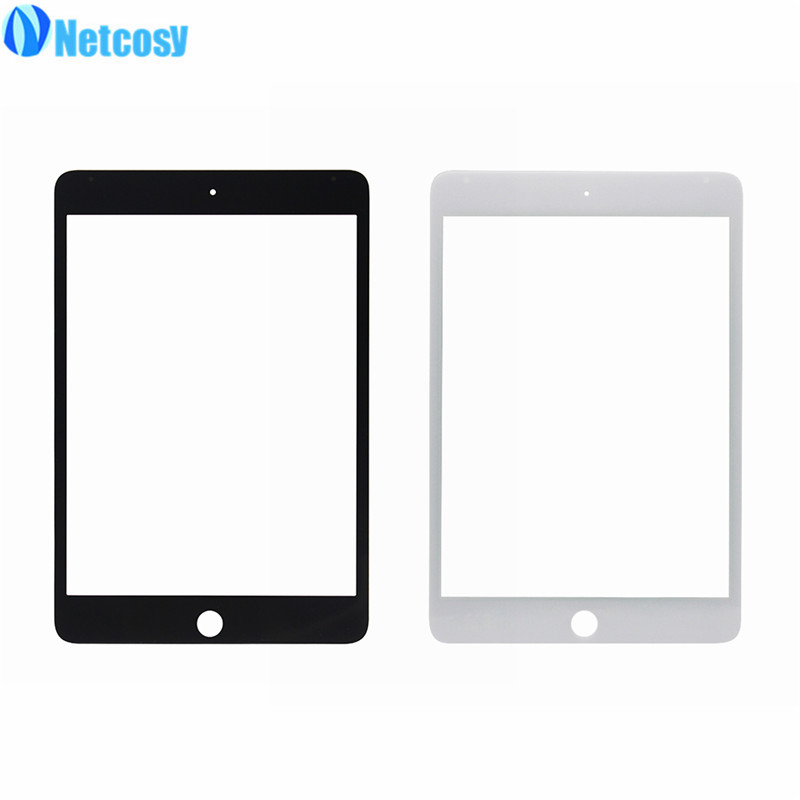 Netcosy For ipad mini 4 LCD glass Front Outer Touch Screen Glass Lens Replacement part For Ipad Mini 4 Mini4 A1538 A1550 Tablet grassroot new 100% tested good quality lcd touch screen for ipad mini4 a1538 a1550 lcd display touch screen replacement assembly