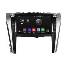 Cortex A9 HD 1024*600 Quad Core 1.6G CPU 16 GB Android 5.1.1 coches Reproductor de DVD de Radio GPS Navi Estéreo para Toyota CAMRY 2015