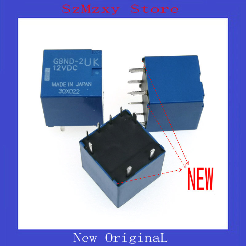 цены 1PCS NEW Auto Relay G8ND-2UK-12VDC G8ND-2UK 12VDC 12V DIP8 G8ND