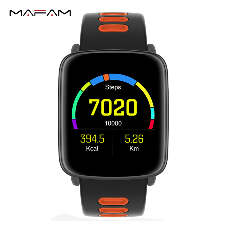 Bluetooth Smart Watch IP68 Waterproof MTK2502 Smartwatch Pedometer Sedentary Alarm Heart Rate for IOS Android Phone GV68 цена