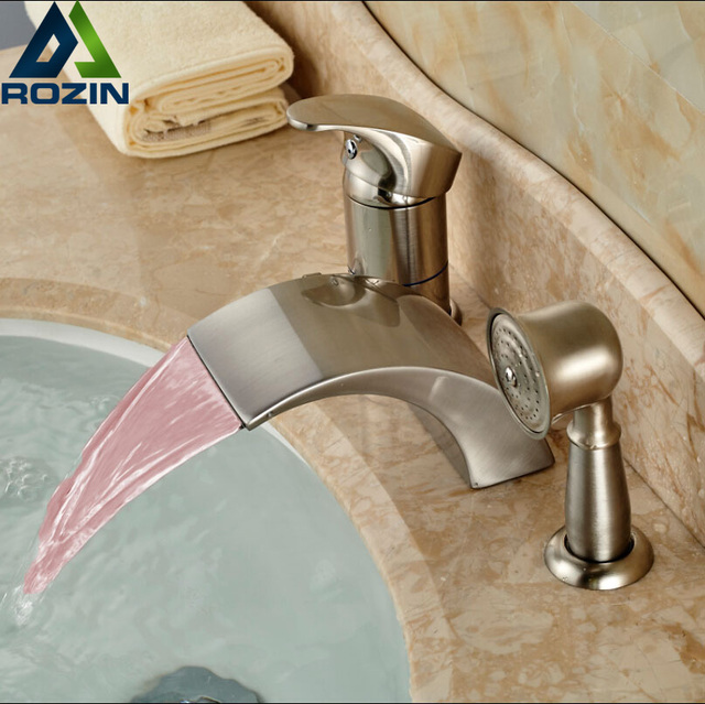 en antique faucet faucets shower with tub hand brass finish inspired