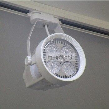 Illuminazione della pista LED E27 Par30 negozio che mette in luce 110V120V220V230V240V treck luce ha condotto la luce per negozi trasporto libero