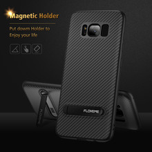FLOVEME Luxury Phone Case with Kickstand For Samsung Note 8 S8 S8Plus S7 S7Edge