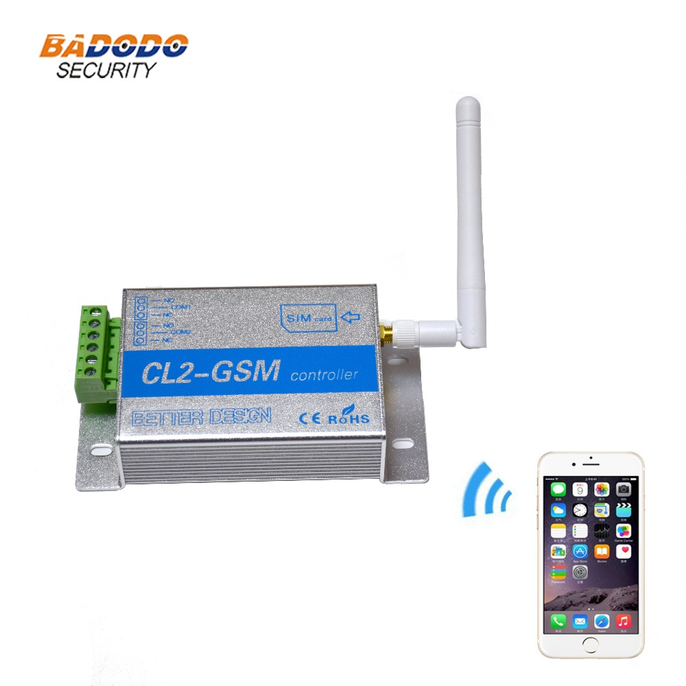 Wireless Gsm Sms Remote Controller Smart Switch Module Cl2-gsm 2 Way Relay Output For Automatic Swing Sliding Gate Door Opener Alarm Host Back To Search Resultssecurity & Protection