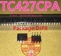 100% new original TC427CPA DIP 8 1.5A dual high-speed power driver IC chip