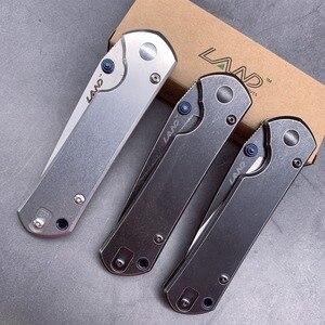 Image 4 - Couteau pliant de poche 12C27, avec lame en acier lavé, roulement à billes, camping, plein air 9104/916, portable de survie pêche edc