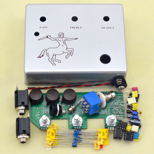 Diy Klon Centaure Silver Overdrive kit Guitar Effect Pedal With 1590BB free shiping