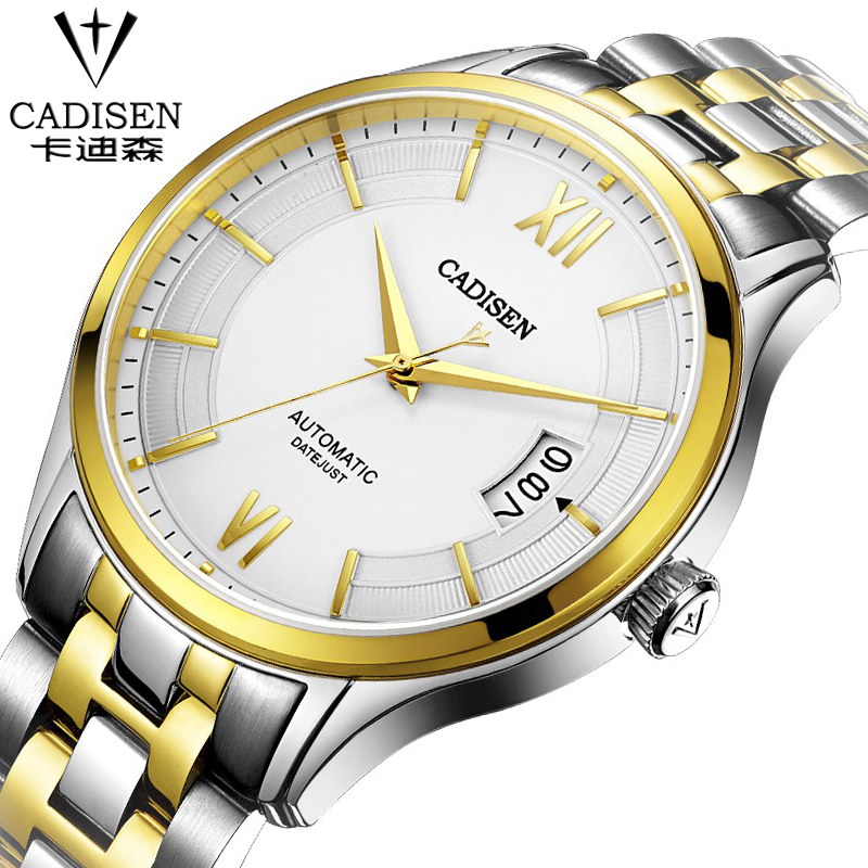 Men Watches Brand Date Clock Male Stainless Steel Luxury mechanical Watch Men