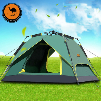 New outdoor big space 3-4person automatic beach party tents waterproof anti-UV family camping camping tent