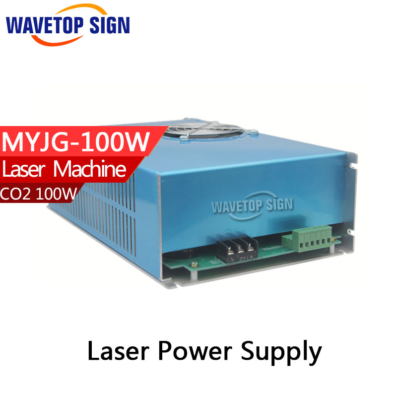 100W CO2 Laser Power Supply for CO2 Laser Engraving Cutting Machine MYJG-100 60w co2 laser power supply for co2 laser engraving cutting machine myjg 60w