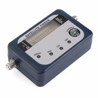 Satellite Finder Signal Identifier Satellite   Receiver     TV   Reception System Strength Meter Detector Pointer With Compass