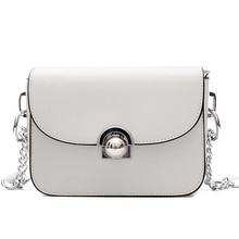Blanco de la manera de Las Mujeres de Marcas famosas de Hombro MessengerBag Lujo flap bag Ladies Bolsos Bolsas Sac A Principal Femme De Marque Pochette