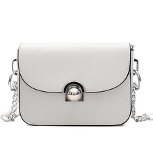 Famous Brands Shoulder fashion white Women MessengerBag Luxury flap bag Ladies Bolsos Bolsas Sac A Main
