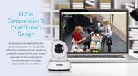 sannce дома безопасности IP для камера с WiFi мини камера наблюдения беспроводной сети Интернет Wi-Fi на 720 р ночное видение видеонаблюдения камера видеоняни и радионяни