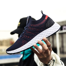 Hot Sale Lightweight Mens Casual Shoes Fashion Sneakers Breathable Shoes Lace-Up Mens Trainers Shoes Zapatillas Hombre Deportiva недорого