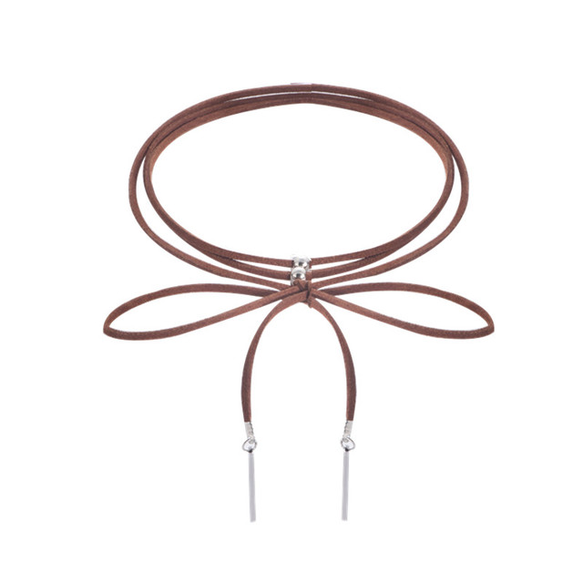 Fashion jewelry fashion cool cloth Lace Tattoo choker necklace Valentine's Day present love gift for women x23 4