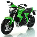 1:12 Scale Model Motorcycles Toy HONDA CB1000R  Alloy Diecast & ABS Rubber Tire Motorbike Model Car Toys For Boys Gift Juguetes