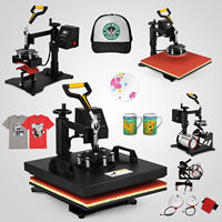 5in1 heat press machine 30x38cm T shirt digital transfer hot press