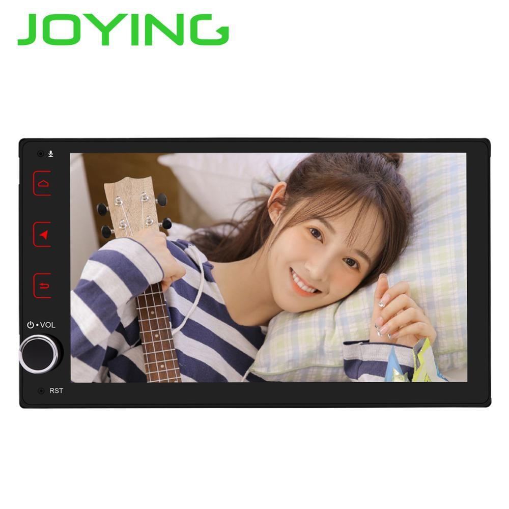 JOYING Android 8 1 car radio 1 din player 9 inch 4GB 64GB Octa Core Support