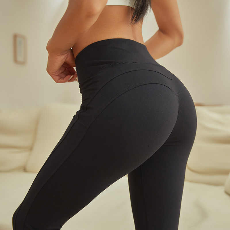 96c2c87be3544 ... Sexy Yoga Pants For Women Gym Booty Shape Push Up Fitness Workout  Tights Stretch High Waist ...
