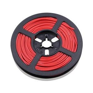 Image 3 - 50 m 164 ft 24awg flexível fio de silicone estanhado fio de cobre e cabo encalhado fio 10 cor opcional diy conexão de fio