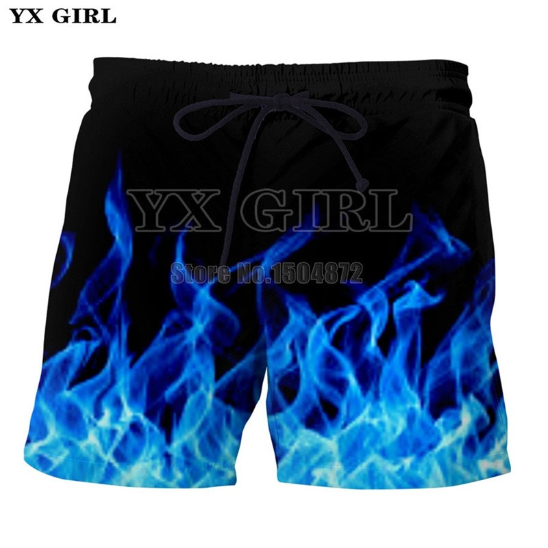 Yx Girl Newest Skull Flowers Printing Shorts Men Women Bottoms Summer Shorts 2018 Casual Beach Shorts Unisex Short Pants Low Price Men's Clothing