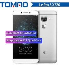 NUOVO Letv LeEco Le Pro 3 X720 Del Telefono Mobile 4G/6GRAM 32G/64GROM Snapdragon 821 Quad Core 5.5