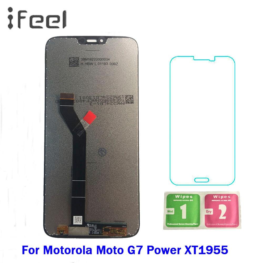 6.2 Inch New LCD For Motorola Moto G7 Power XT1955 LCD Display Touch screen sensor Panel Digiziter assembly 6.2 Inch New LCD For Motorola Moto G7 Power XT1955 LCD Display Touch screen sensor Panel Digiziter assembly