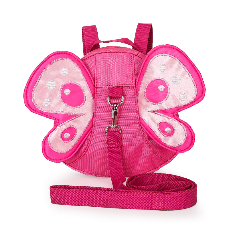 New Toddler Safety Anti-lost Animal Bag Children Backpack For 1-3 Years  Kindergarden Girls & Boys Cartoon Butterfly Wings bags