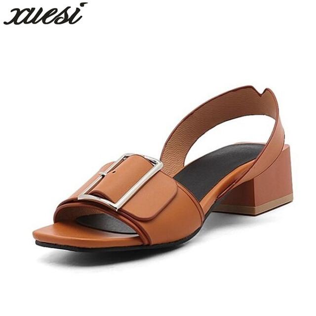 2018 scarpe di marca scarpe da da scarpe donna moda donna fibbia tacchi   3b4658
