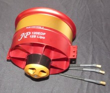 EDF metal 120mm ducted fan with brushless motor 12S thrust up to 9 KG