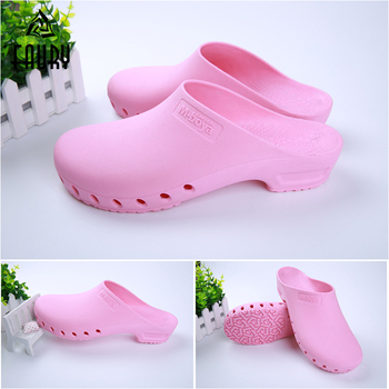 TPE Non-slip High Quality Summer Hospital Medical Surgical Doctors Nurses Work Shoes Breathable Sandals Flip Flop Beach Slippers
