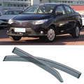 4 unids Hoja Ventanas Laterales Deflectores Puerta Visera de Sun Shield Para Toyota Vios 2014