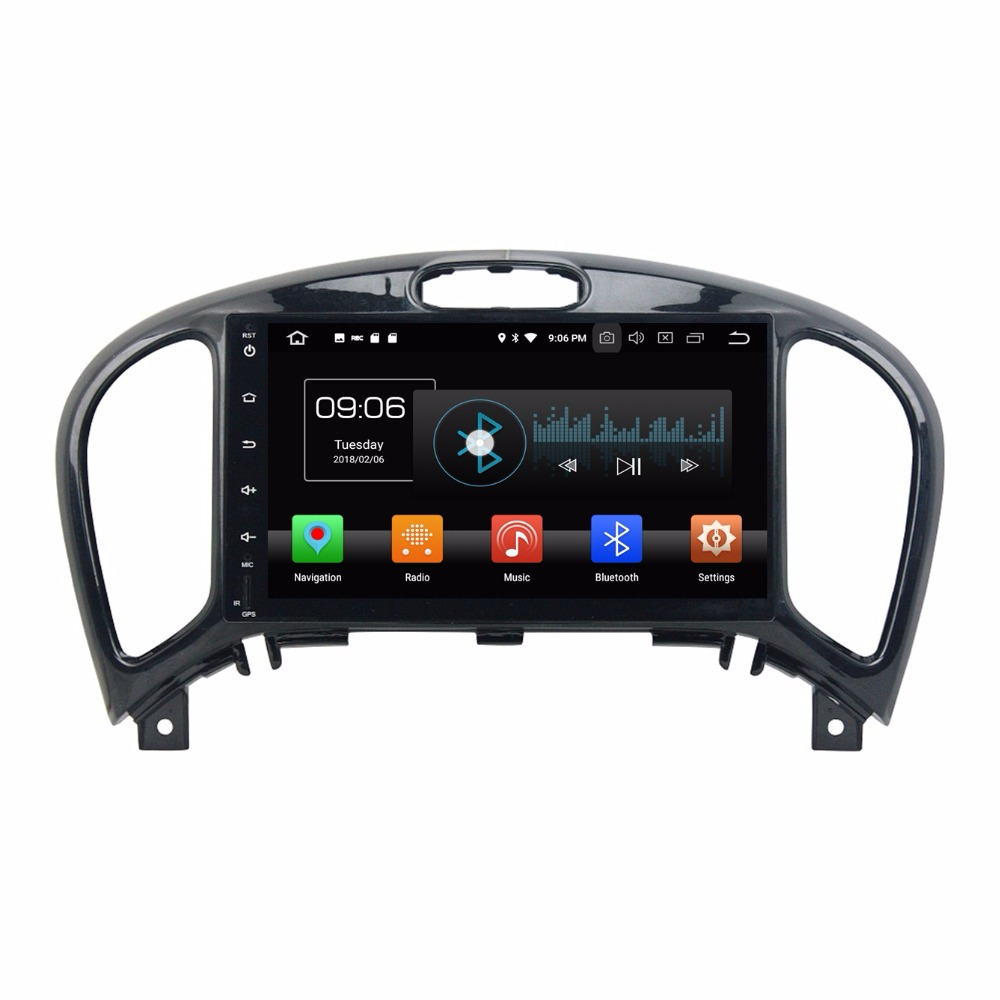4GB RAM Octa Core 2 din 8 Android 8.0 Car Audio Multimedia GPS for Nissan Juke 2004-2016 With Radio Bluetooth WIFI USB 32GB ROM