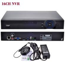 16CH NVR ONVIF видеонаблюдения 16CH 1080 P NVR/4CH 5 м сети SATA видеорегистратор H.264 HDMI xmeye P2P Clould для 1080 P 5MP IP Камера