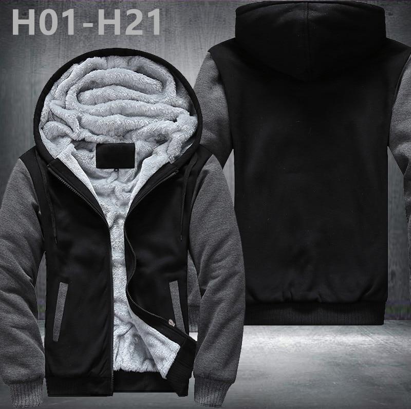 Nova Equipe de Futebol de Design Hoodies Zip Up Casacos de Padrão de  Impressão Super Quente 7fffb658df76f