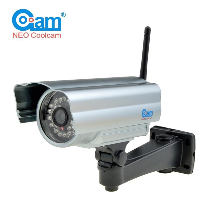 ФОТО NEO COOLCAM NIP-06FX 720P HD Outdoor IP Camera Wifi IP65 Wireless IP Cam Network Surveillance outdoor MegaPixels CMOS Sensor