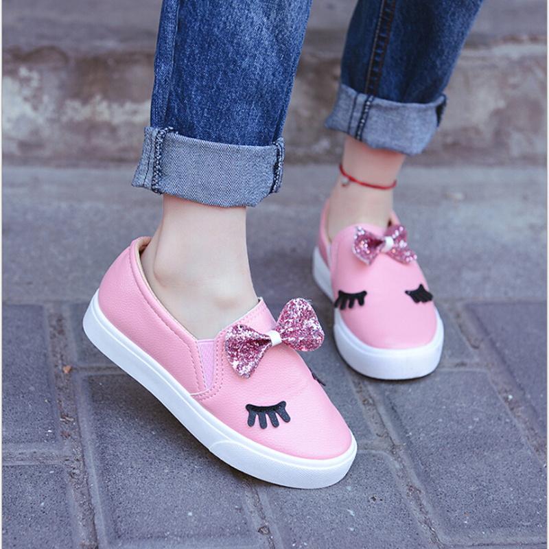 KKABBYII-Children-Shoes-Girls-Sneakers-New-Spring-Autumn-Cute-Bow-Fashion-Princess-Girls-Shoes-Kids-Soft-Casual-Single-Shoes-2