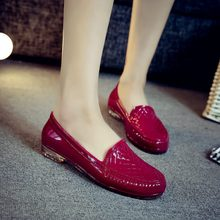 AShwin rainshoes quality rubber shoes flats water shoes labor shoes protective for kitchen garden rain shoes jelly color 36-40
