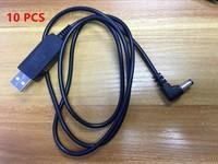 uv 5re XQF 10 PCS Baofeng UV5R USB מטען סוללות עבור מכשירי ווקי רדיו שני הדרך Portable Talkie Baofeng UV-5R UV-5re 5RB UV-5ra אביזר (2)