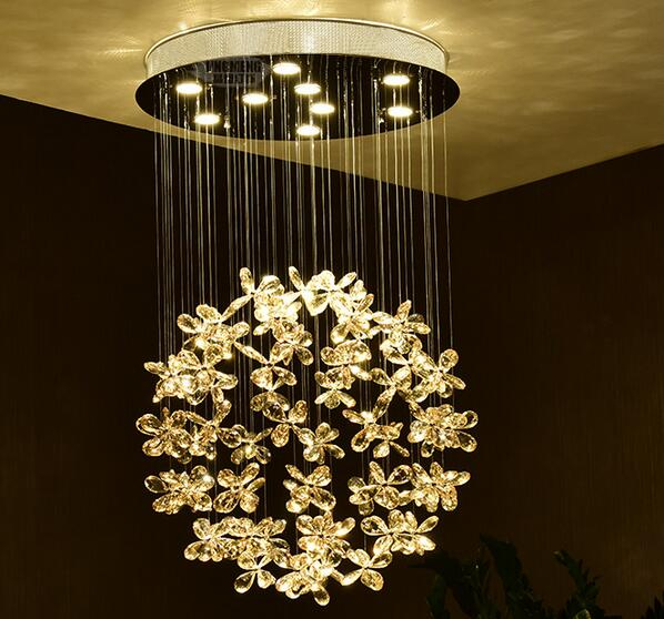 A1 Kristall Pendelleuchte Runden Das Wohnzimmer Restaurant Au Schlafzimmer Lampe Einfache Moderne Kreative Persnlichkeit Kugel Treppe