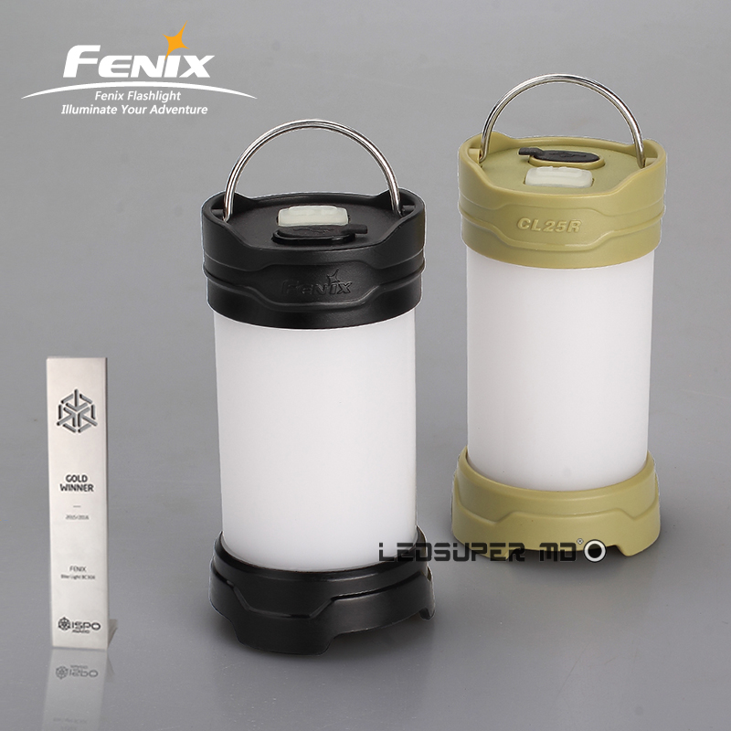 Original FENIX CL25R Portable Light Cold-resistant Waterproof and Rechargeable LED Camping Lantern with 18650 Battery fenix cl25r rechargeable lantern cl25rb фонарь black