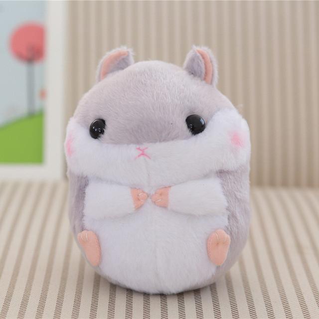 1pc Kawaii Guinea Pig Plush Doll, Hamster Mini Plush Toys, Cute Hamster Toys, Children Kids Girls Gift 20cm