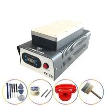 цена на TBK-988 Dual Vacuum Pump Manual Separator + Double Pump LCD Screen Splitter OCA Glue Removal Separator For Curved Screen