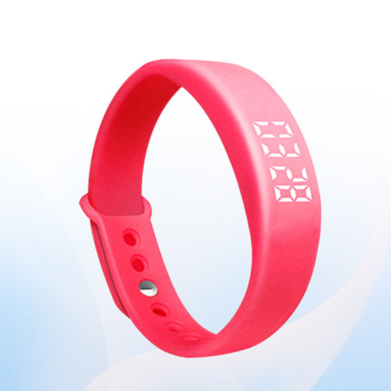 W 5 font b Smart b font Wristband Bracelet Pedometer Sleeping Monitor Tracker 6 Colors High