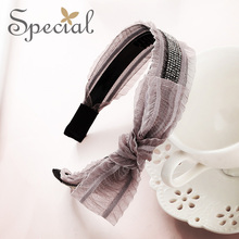 The SPECIAL New Fashion euramerican handmade bowknot hair accessories hairbands fllater skin hairpins for women ,S1997H
