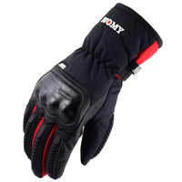 New SU06 motorcycle gloves 100% Waterproof windproof Winter warm Guantes Moto Luvas Touch Screen Motosiklet Eldiveni Protective