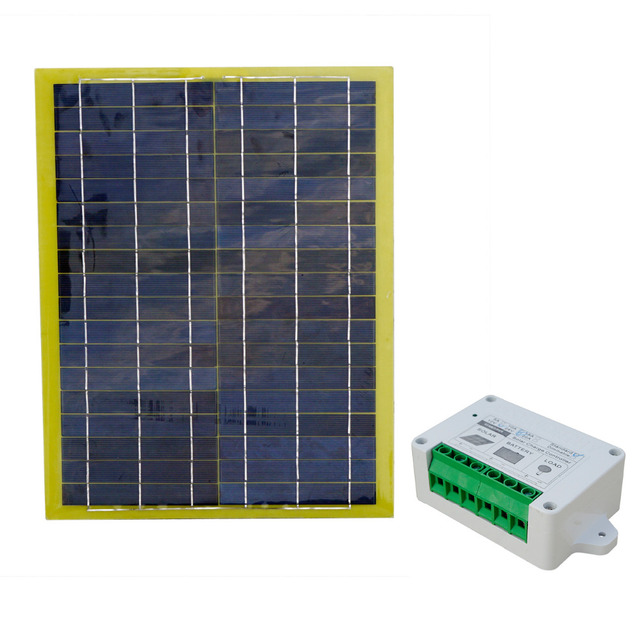 2015 New 12V 20 Watts Portable Car Power Solar Panel With 10A Controller Charger For RV SUV Truck Boat Marine